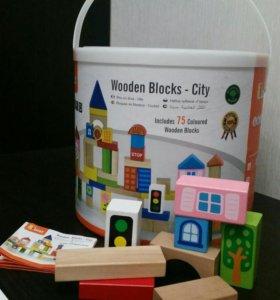 Кубики деревянные viga