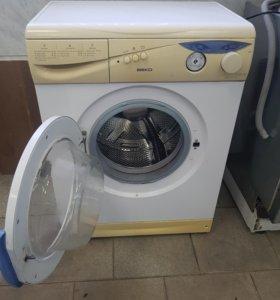 Стиральная машина beko, рабочая
