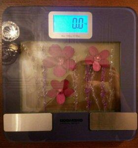 Умные напольные фитнес весы