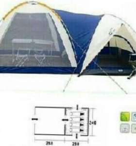 Палатка 4 местная с кухней