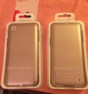 Чехол аккумулятор на Samsung Galaxy S6 edge +