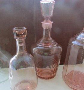 Цветное стекло 50-60-е годы Винтаж.