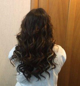 Волосы для наращивания б/у
