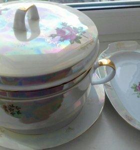 Шикарный набор посуды