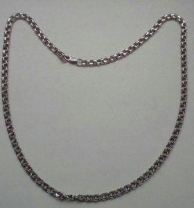 Серебряную цепочку