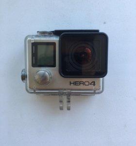 Gopro hero 4 Black 4K UHD + 32 Gb