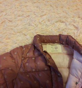 Куртка Zara р.80