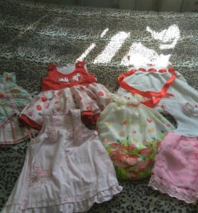 Летние платья на девочку 2 лет