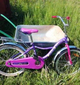 """Велосипед для девочки 20"""""""