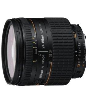 Nikon af nikkor 24-85 mm 1:2.8-4 D