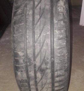 Продам летние шины Continental R16 205/55