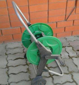 Тележка катушка для шланга