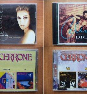 Музыкальные компакт диски CD Часть 1