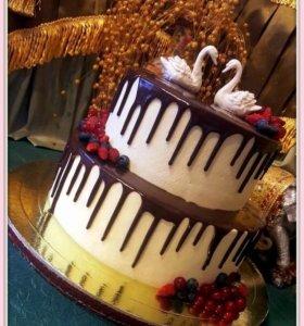 Самый вкусный торт на свадьбу!