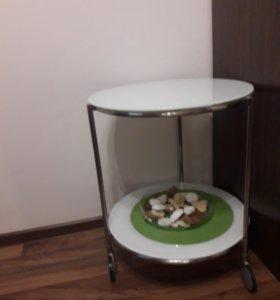 Стол стеклянный IKEA