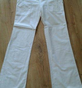 Летние льняные женские брюки