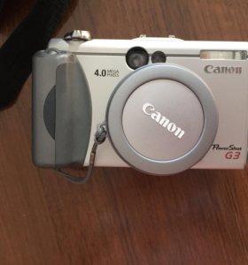 Фотоаппарат canon power shot g3