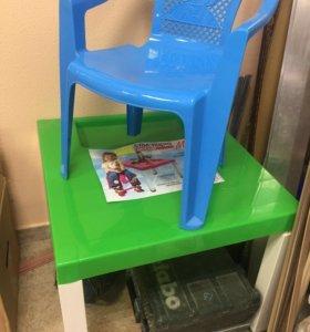 Столик и стульчик ( новые )
