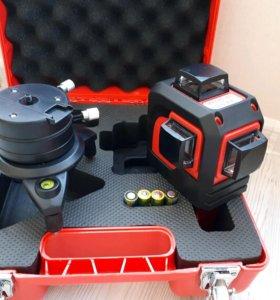 Лазерный уровень fukuda 3D зелёный красный