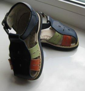 Кожаные сандалии Антилопа, 20 р-р