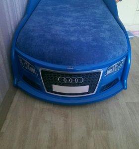 Audi A6 кровать машина