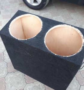 Короб из фанеры под 2 12саба.