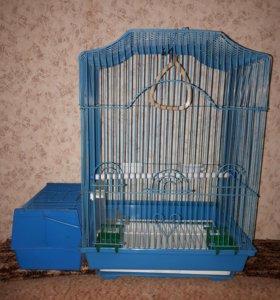 Клетка для попугаев + переноска