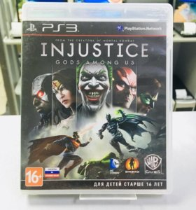 Игра Injustice Gods Among Us для PS3
