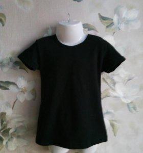 Черные детские футболки