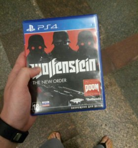 Ps4 PlayStation 4 Wolfenstein the new order