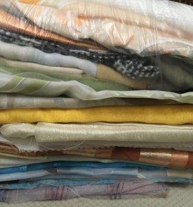 Отрезы шторных тканей и тюли