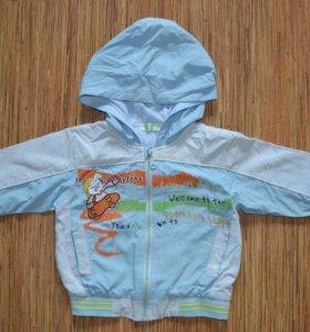 Детская куртка - ветровка 81-98 р-р