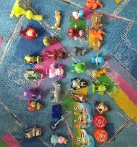киндеры и игрушки из макдональдса