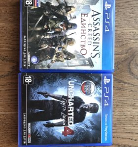Uncharted 4 и Assassins Creed: Единство для PS4