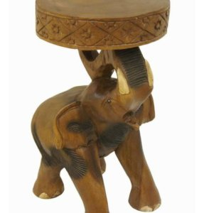 "Табурет без подставки ""Слон"" h51см"