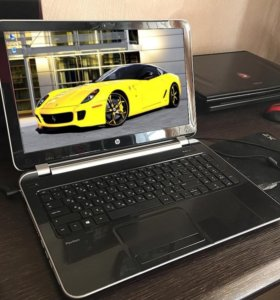 Современный тонкий быстрый ноутбук HP