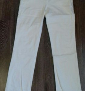 Белые брюки р. 46