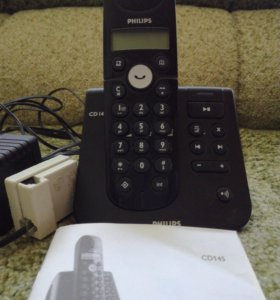 Стационарный телефон трубка