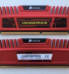 Игровая оперативная память DDR3 16 Gb (2х8 Gb)