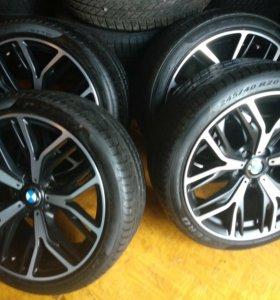 Комплект летних колес R20 бмв X3 F25 X4 F26