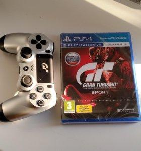 Dualshock 4 GT + диск с игрой