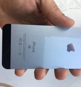 Защитное стекло на заднюю часть iphone SE 5s
