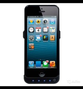 Чехол-аккумулятор DF iBattery-06 Black для iPhone