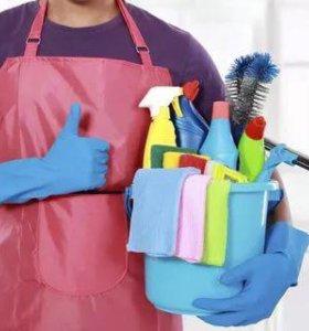 Уборка частных и коммерческих помещений. Клининг