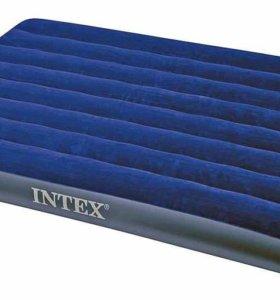 Надувной матрас Intex 137х191х22 см