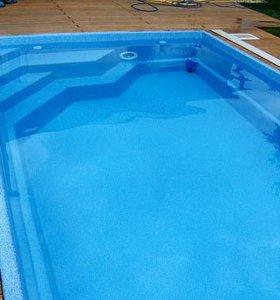 Продаю бассейн из пластика