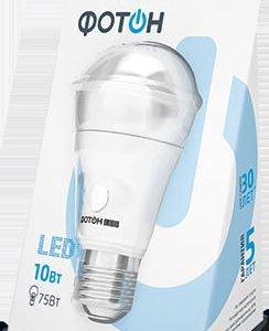 Светодиодная лампа Фотон 10W E27