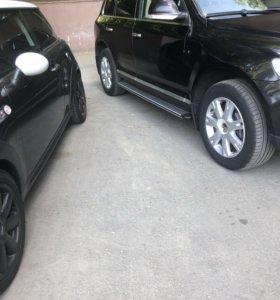 Volkswagen Touareg зима+лето r18 5x130