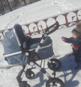 Детская коляска 10000 тогр . Коляска 2/1 почти не