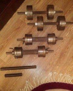 Гантели сборные 2х26 кг